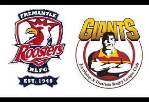 WA STS Premiership Rd 12 Roosters Giants