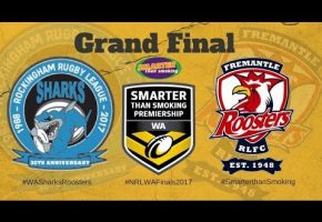 WA STS 2017 Grand Final Sharks Roosters