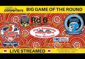 WA STS Indigenous Rd Sharks v Lions