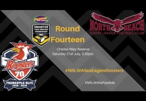 WA STSP Rd 14 BIG Game Sea Eagles v Roosters