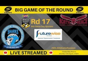 WA STSP Rd 17 BIG Game Sea Eagles v Sharks