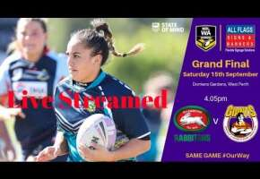 2018 All Flags Signs & Banners Womens Grand Final