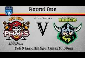 Rd 1 Pirates v Canberra Raiders