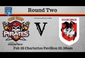 Rd 2 Pirates v St George Dragons