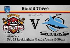 Rd 3 Pirates v Cronulla Sharks