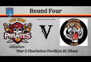 Rd 4 Pirates v Balmain Tigers