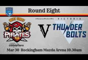 Rd 8 Pirates v Victoria Thunderbolts