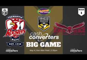 WA STSP Round 1 - Roosters v Sea Eagles