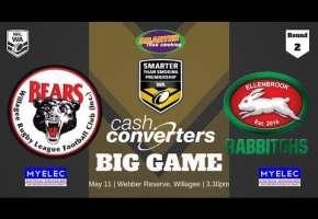 WA STSP Round 2 - Bears v Rabbitohs