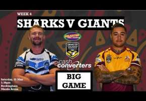 WA STSP Round 4 - Sharks v Giants