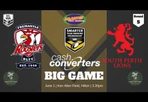 WA STSP Round 5 - Roosters v Lions