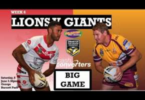 WA STSP Round 6 - Lions v Giants
