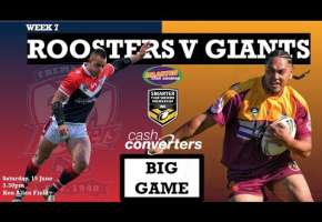 WA STSP Round 7 - Roosters v Giants