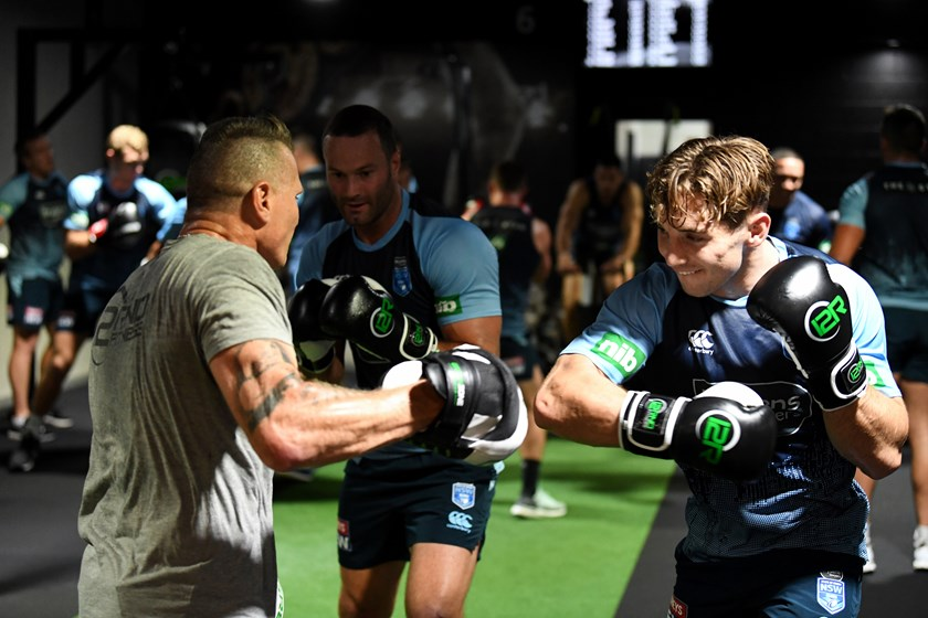 NSW Blues hold private workout with Danny Green | NRL WA