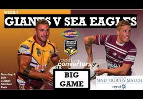 WA STSP Round 9 - Giants v Sea Eagles