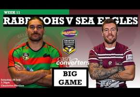 WA STSP Round 11 - Rabbitohs v Sea Eagles