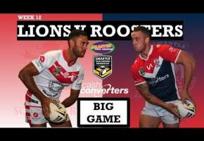 WA STSP Round 12 - Lions v Roosters