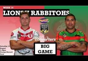 WA STSP Round 14 - Lions v Rabbitohs