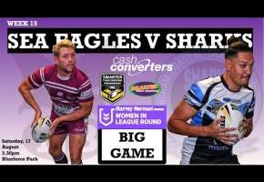 WA STSP Round 15 - Sea Eagles v Sharks