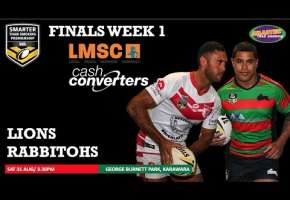WA STSP Finals Week 1 - Lions v Rabbitohs