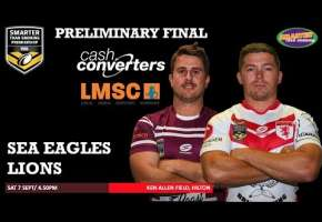 WA STSP Elimination Semi Final - Lions v Rabbitohs