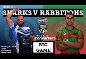 2019 WA StS Premiership Rd 16 Sharks v Rabbitohs