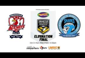 WA STSP Elimination Final Roosters v Sharks